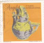 Sellos de Africa - Angola -  Ceramica tradicional