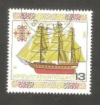 Sellos de Europa - Bulgaria -  3038 - Barco