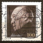 Sellos de Europa - Alemania -  25a.Aniv de la muerte de Konrad Adenauer 1876-1967 (canciller, 1949-1963).