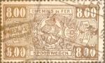 Sellos de Europa - Bélgica -  Intercambio 0,20 usd 8 francos 1927