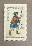 Sellos del Mundo : Europa : Austria : Día del Sello 1966