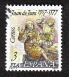 Sellos del Mundo : Europa : España : Juan de Funi 1507-1577