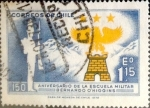 Sellos de America - Chile -  Intercambio 0,25 usd 1,15 escudos 1972