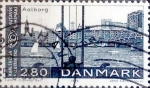 Sellos del Mundo : Europa : Dinamarca : Intercambio 0,50 usd 2,80 krone 1986