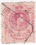 Sellos de Europa - España -  Alfonso XIII- Medallón (18)