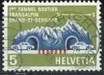Sellos del Mundo : Europa : Suiza : Túnel