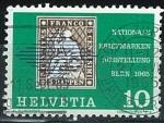 Sellos del Mundo : Europa : Suiza : Exposición filatélica Berna 1965