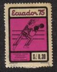 Sellos del Mundo : America : Ecuador : Terceros Juegos Deportivos Ecuatorianos