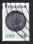 Sellos del Mundo : America : Ecuador : Monedas