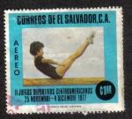 Sellos del Mundo : America : El_Salvador : II juegos Deportivos Centroamericanos