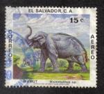 Sellos del Mundo : America : El_Salvador : Animales Prehistoricos