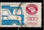 Sellos del Mundo : America : México :  Exportacion de automoviles.