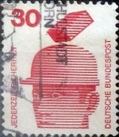 Sellos de Europa - Alemania -  Intercambio 0,20 usd 30 pf. 1972