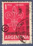 Sellos de America - Argentina -  Campamento Internacional de Patrullas