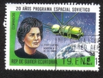 Sellos del Mundo : Africa : Guinea_Ecuatorial : 20 Años de Programa Espacial Sovietico