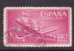 Sellos de Europa - España -  Superconstellation y nao Santa María