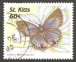 Sellos del Mundo : America : San_Cristobal : St. Kitts - 886 - Mariposa
