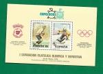 Sellos de Europa - España -  Expo Ocio 79 - I Exposicion Filatelica Olimpica  y  Deportiva -