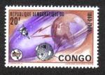 Sellos del Mundo : Africa : República_Democrática_del_Congo : U.I.T. Century Feast-Telecommunication