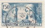 Sellos de Europa - Francia -  exposición internacional París 1937