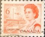 Sellos de America - Canadá -  Intercambio 0,20 usd 6 cents. 1968