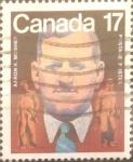 Sellos de America - Canadá -  Intercambio 0,20 usd 17 cents. 1981