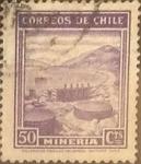 Sellos de America - Chile -  Intercambio 0,20  usd  50 cents. 1938