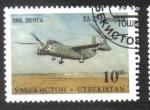 Sellos del Mundo : Asia : Uzbekistán : Aeronaves de de Tashkent Aircraft Factory
