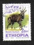 Sellos del Mundo : Africa : Etiopía : Bushbuck de Menelik
