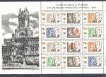 Sellos de Europa - España -  150 anivº Primer sello Español   H.B. - Isabel II -Juan Carlos I