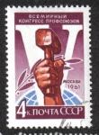 Sellos de Europa - Rusia -  5 º Congreso Sindical Mundial