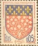Sellos del Mundo : Europa : Francia : Intercambio 0,20 usd 5 cents. 1962