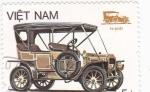 Sellos de Asia - Vietnam -  coche de epoca