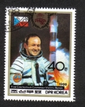 Sellos del Mundo : Asia : Corea_del_norte : Cosmonaut Vladimir Remel