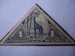 Sellos de Africa - Portugal -  Nyassa - Girafa- Companhia Do Nyassa.