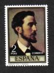 Sellos del Mundo : Europa : España : Rosales por F. Madrazo (Eduardo Rosales y Martín)