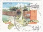 Sellos de America - Cuba -  granja de tortugas marinas