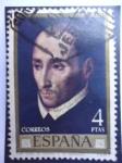 Sellos de Europa - España -  Ed: 1969 - San Juan de Ribera - Pintura de Luis de Morales.