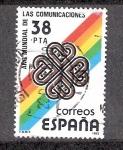 Sellos de Europa - España -  Año Mundial de las Comunicaciones