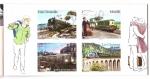 Sellos de Europa - Francia -  serie- Gran época del viaje en tren