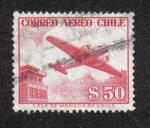 Sellos del Mundo : America : Chile : Correo Aéreo