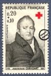 Sellos de Europa - Francia -  Barón Jean Nicolas Corvisart (1755-1821)