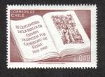 Sellos del Mundo : America : Chile : IV Centenario de La Biblia en Español, traducida por Casiodoro de Reina 1569-1969