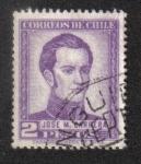 Sellos del Mundo : America : Chile : General José Miguel Carrera (1785-1821)