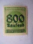 Sellos de Europa - Alemania -  Inflacción Alemana -