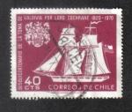 Sellos del Mundo : America : Chile : Sesquicentenario de la Toma de Valdivia por Lord Cochrane