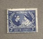 Sellos del Mundo : Africa : Sudáfrica : Bodas plata reyes