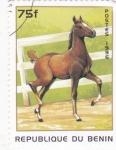 Sellos de Africa - Benin -  caballo