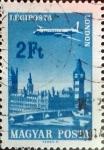 Sellos de Europa - Hungría -  Intercambio 0,20 usd 2 ft. 1966