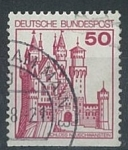 Sellos del Mundo : Europa : Alemania : Castillo Neuschwanstein